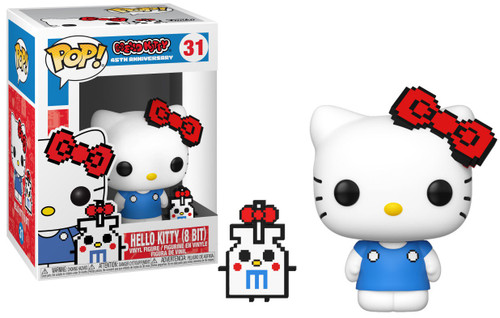 Funko POP! Sanrio Hello Kitty (8-Bit) Vinyl Figure #31 [Anniversary, Regular Version]