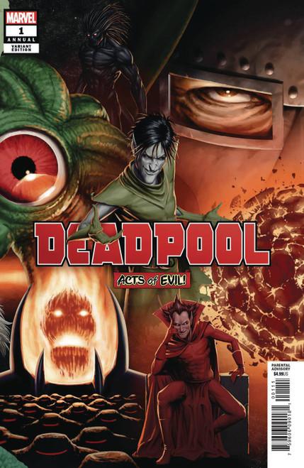 Marvel Comics Deadpool Annual 1 Comic Book [John Tyler Christopher Connecting Variant Cover]