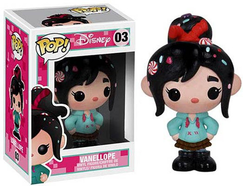 Funko Wreck-It Ralph POP! Disney Vanellope Von Schweetz Vinyl Figure #03 [Damaged Package]