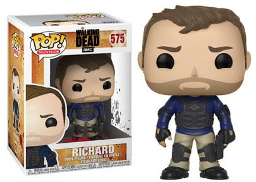 Funko The Walking Dead POP! TV Richard Vinyl Figure #575 [Vest & Gun, Damaged Package]