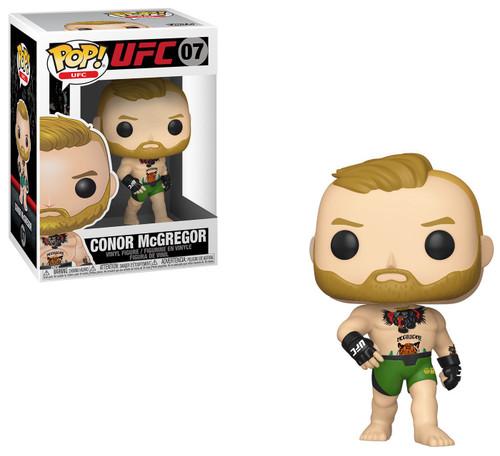 Funko UFC POP! Conor McGregor Vinyl Figure #07 [Green Shorts, Damaged Package]