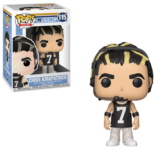 Funko NSYNC POP! Rocks Chris Kirkpatrick Vinyl Figure [Damaged Package]