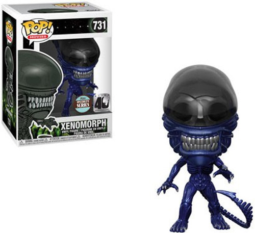 Funko 40th Anniversary POP! Movies Alien Xenomorph Exclusive Vinyl Figure #731 [Blue Metallic, Specialty Series, Damaged Package]