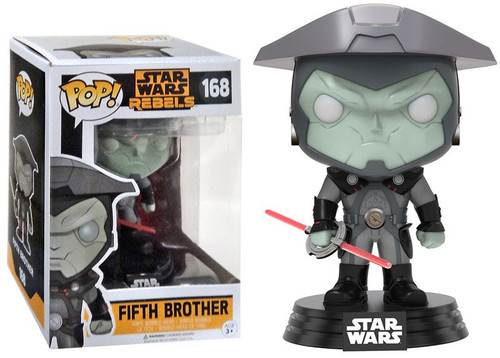 Funko Rebels POP! Star Wars Fifth Brother Exclusive Vinyl Bobble Head #168 [Damaged Package]