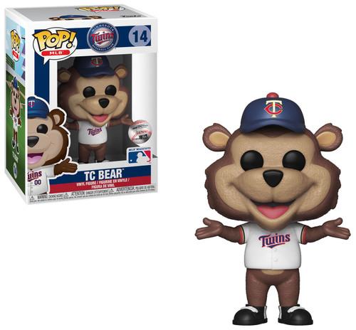 Funko MLB Minnesota Twins POP! Sports Baseball T.C. Bear Vinyl Figure [Mascot, Damaged Package]