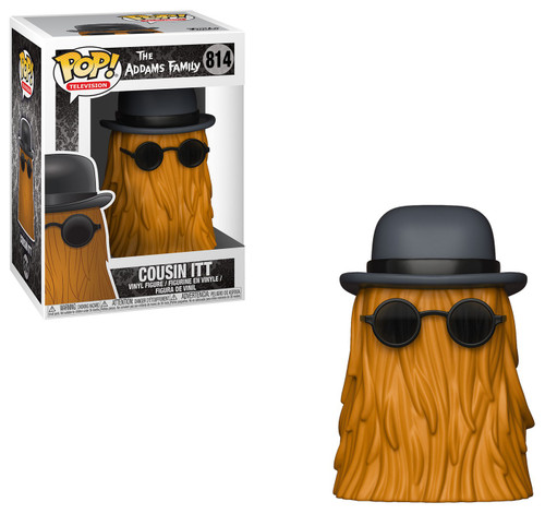 Funko The Addams Family POP! TV Cousin Itt Vinyl Figure [Damaged Package]
