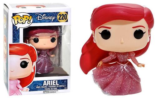 Funko Princess POP! Disney Ariel Exclusive Vinyl Figure #220 [Translucent Glitter, Damaged Package]