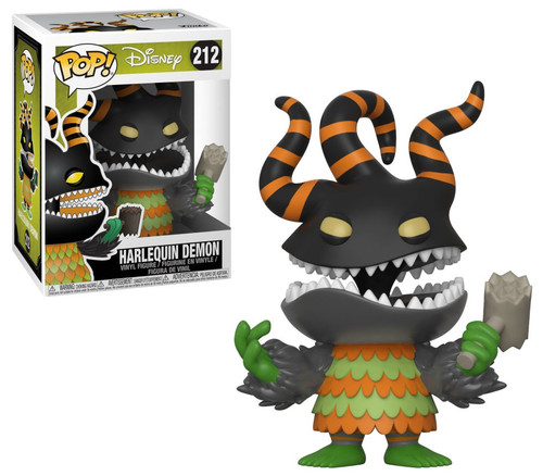 Funko Nightmare Before Christmas 25th Anniversary POP! Disney Harlequin Demon Vinyl Figure #212 [Damaged Package]