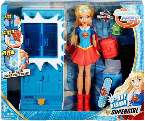 DC Super Hero Girls X-Ray Vision Supergirl Playset [Damaged Package]