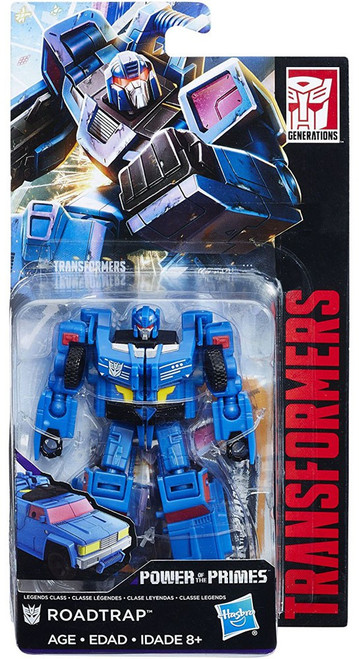 Transformers Generations Power of the Primes Roadtrap Legend Action Figure [Damaged Package]