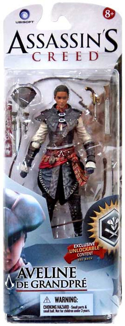 McFarlane Toys Assassin's Creed III Liberation Series 2 Aveline de Grandpre Action Figure [Damaged Package]