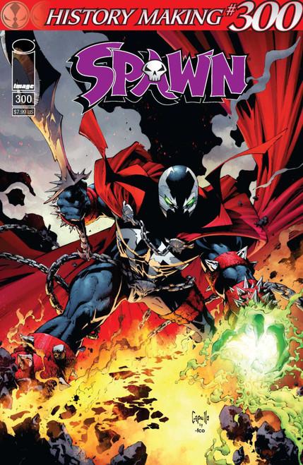 Image Comics Spawn #300 Comic Book [Greg Capullo Variant Cover C]