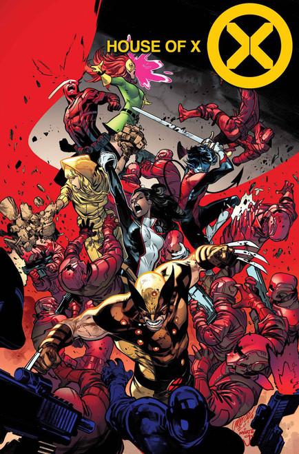Marvel Comics House of X #4 Comic Book