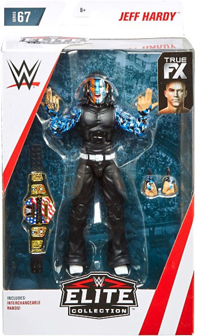 WWE Wrestling Elite Collection Series 67 Jeff Hardy Action Figure [Damaged Package]