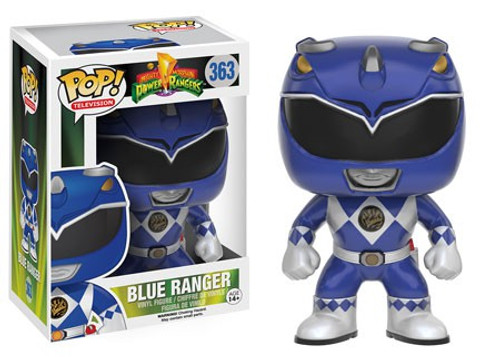 Funko Power Rangers POP! TV Blue Ranger Vinyl Figure #363 [Damaged Package]