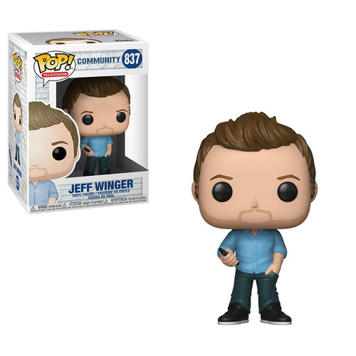 Funko Community POP! TV Jeff Winger Vinyl Figure [Damaged Package]