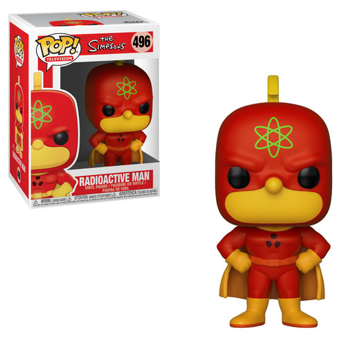 Funko The Simpsons POP! TV Radioactive Man Homer Vinyl Figure [Damaged Package]