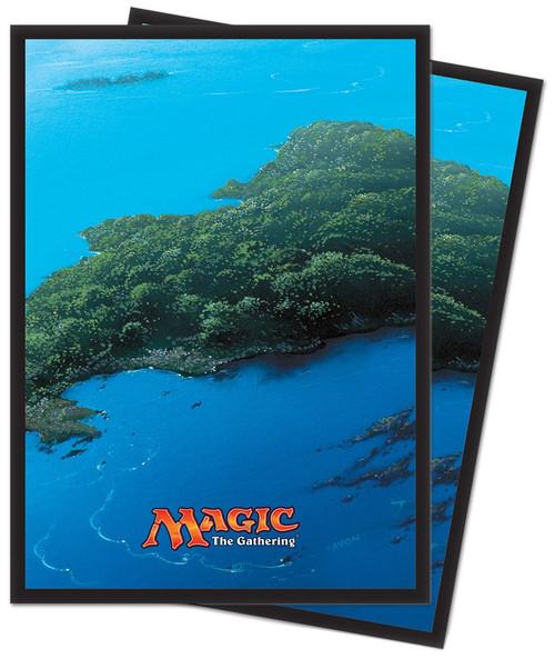 Ultra Pro MtG Mana 5 Island Standard Card Sleeves [80 Count]