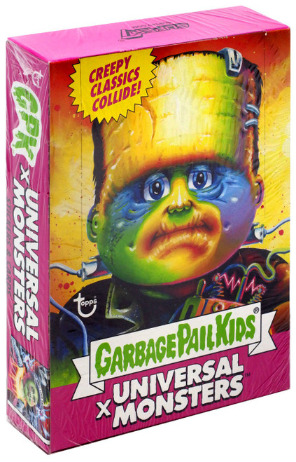 Garbage Pail Kids X Universal Monsters Trading Card Wax Box [24 Packs]