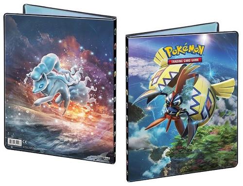 Ultra Pro Pokemon Sun & Moon Card Supplies Guardians Rising 9-Pocket Binder