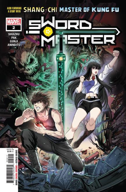 Marvel Comics Sword Master #2 Comic Book