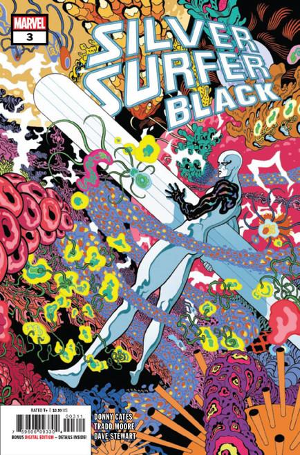 Marvel Comics Silver Surfer Black #3 of 5 Comic Book