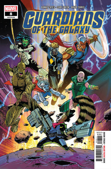 Marvel Comics Guardians of the Galaxy #8 Comic Book
