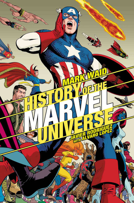Marvel Comics History of Marvel Universe #2 of 6 Comic Book [Javier Rodriguez Variant Cover]