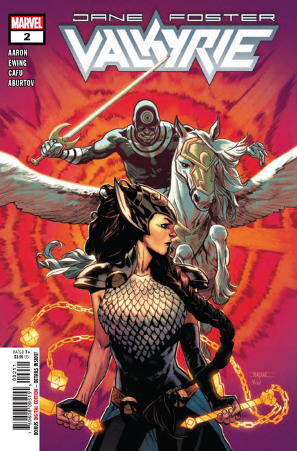 Marvel Comics Valkyrie Jane Foster #2 Comic Book