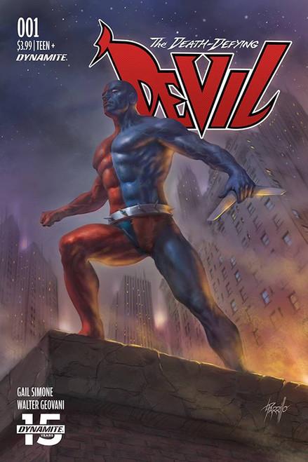 Dynamite Entertainment Death-Defying Devil #1 Comic Book [Lucio Parrillo Variant Cover B]