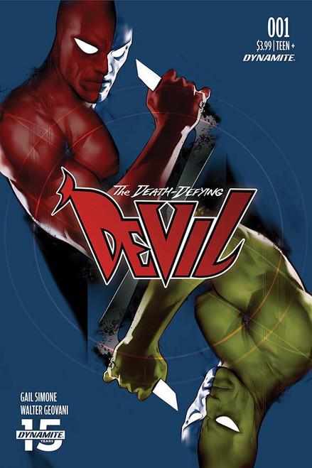 Dynamite Entertainment Death-Defying Devil #1 Comic Book [Ben Oliver Variant Cover D]