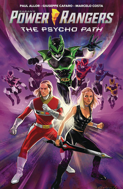 Boom Studios Power Rangers The Psycho Path Trade Paperback Comic Book