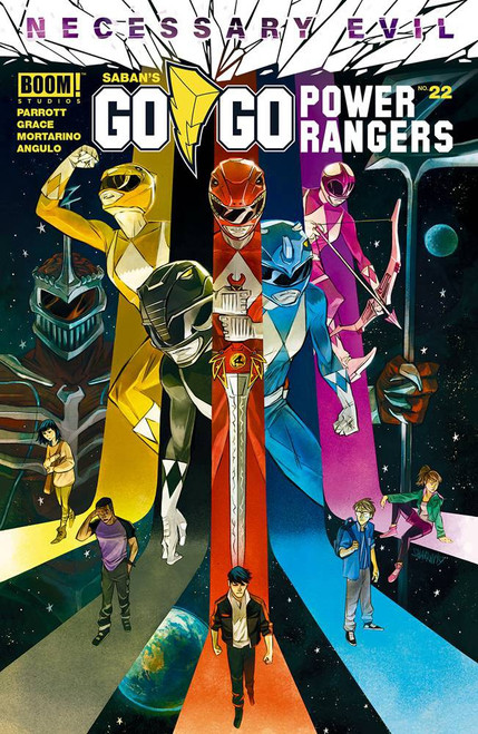 Boom Studios Go Go Power Rangers #22 Necessary Evil Comic Book