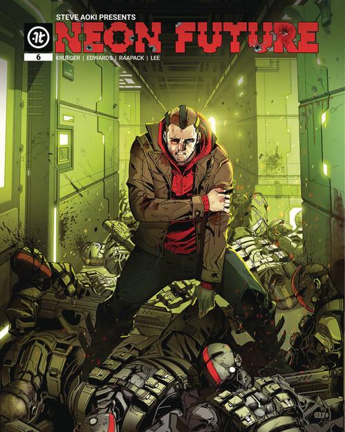 Impact Theory Neon Future #6 of 6 Comic Book