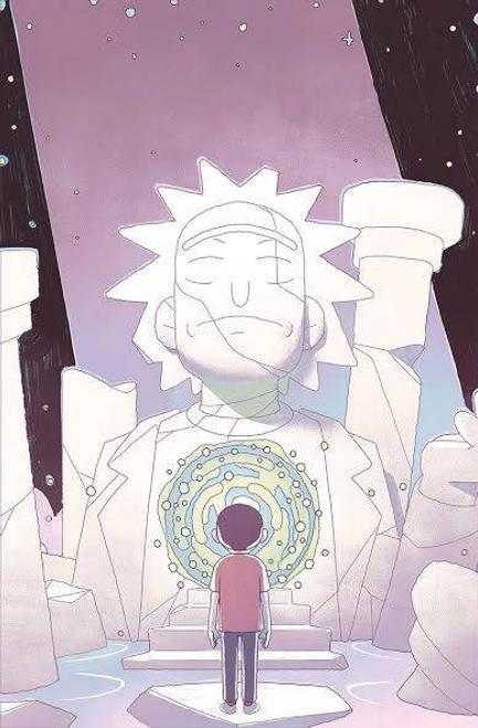 Oni Press Rick & Morty #53 Comic Book [Cover B Variant]