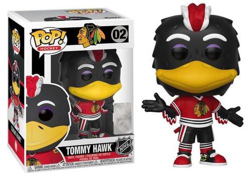Funko NHL Chicago Blackhawks POP! Sports Hockey Tommy Hawk Vinyl Figure #02 [Mascot]