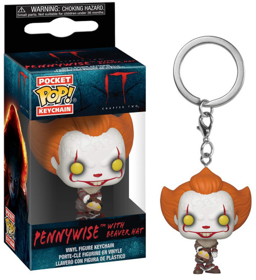 Funko IT Movie Chapter 2 POP! Movies Pennywise Keychain [with a Hat]