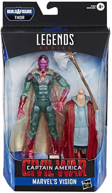 Avengers Endgame Marvel Legends Thor Series Vision Action Figure