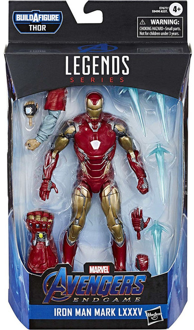 Avengers Endgame Marvel Legends Thor Series Iron Man Mark LXXXV Action Figure
