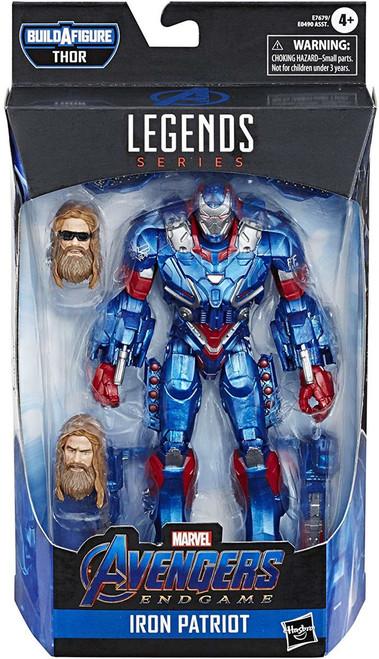 Avengers Endgame Marvel Legends Thor Series Iron Patriot Action Figure