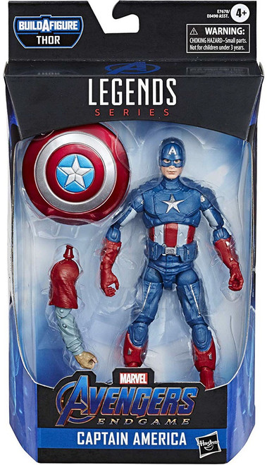 Avengers Endgame Marvel Legends Thor Series Captain America Action Figure
