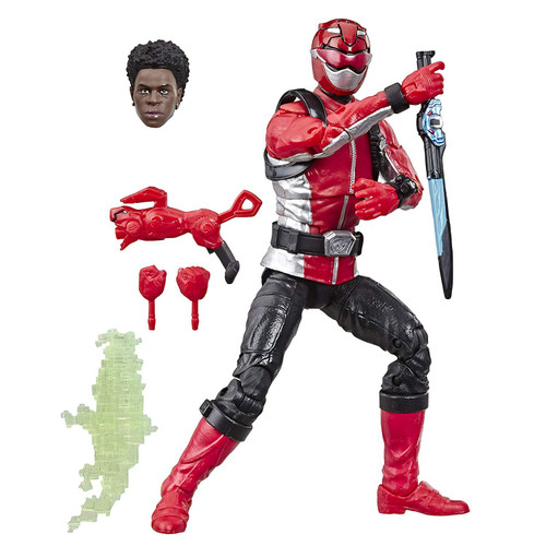 Power Rangers Beast Morphers Lightning Collection Red Ranger Action Figure [Beast Morphers]