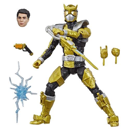 Power Rangers Beast Morphers Lightning Collection Gold Ranger Action Figure [BM]