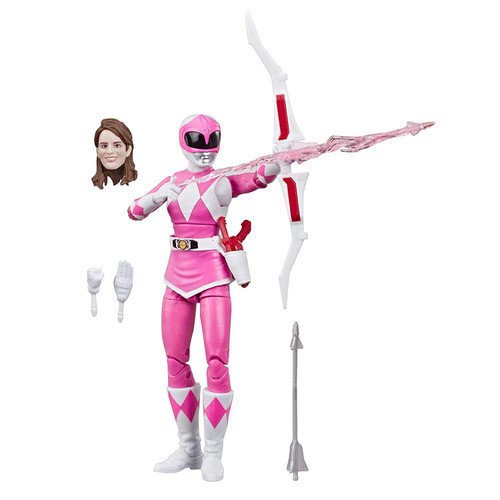 Power Rangers Mighty Morphin Lightning Collection Pink Ranger Action Figure