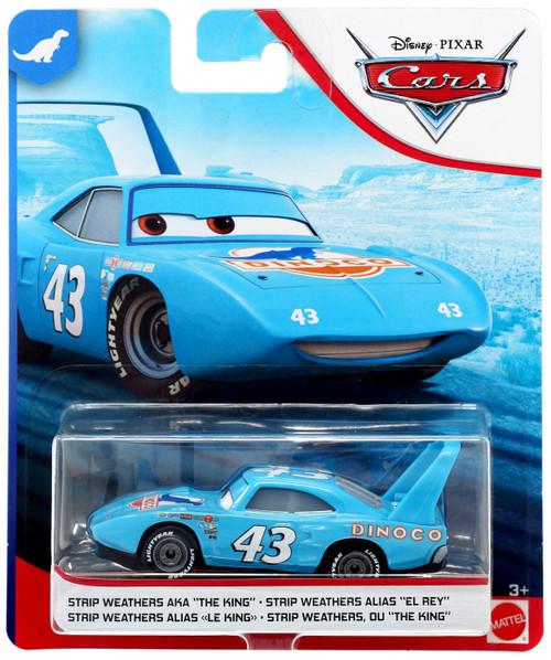 "Disney / Pixar Cars Dinoco 400 Strip Weathers AKA ""The King"" Diecast Car"
