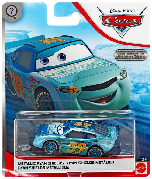Disney / Pixar Cars Scavenger Hunt Metallic Ryan Shields Diecast Car