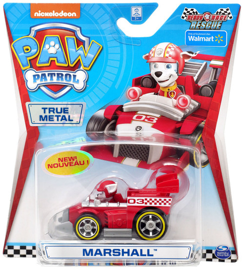 Paw Patrol Ready Race Rescue True Metal Marshall Exclusive Diecast Car [Ready Race Rescue]