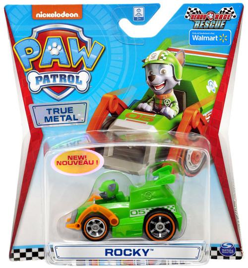 Paw Patrol Ready Race Rescue True Metal Rocky Exclusive Diecast Car [Ready Race Rescue]