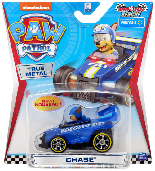 Paw Patrol Ready Race Rescue True Metal Chase Exclusive Diecast Car [Ready Race Rescue]