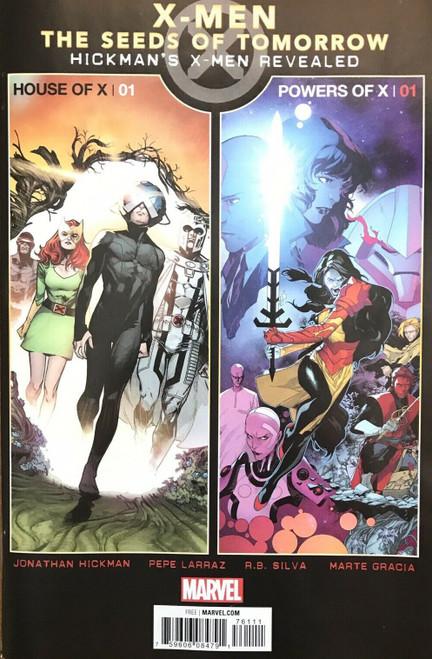 Marvel Comics X-Men Promo The Seeds of Tomorrow Comic Book [Hickman's X-Men Revealed]